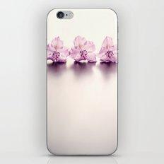 Three Pink Flowers iPhone & iPod Skin