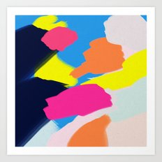 Pastel Play Art Print