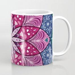 Bright Flower Mandala Coffee Mug