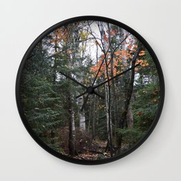 Woods 2 Wall Clock