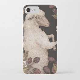 The Sheep and Blackberries iPhone Case
