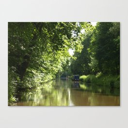 Wood end cutting Canvas Print
