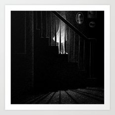 Drawlloween 2015: Ghost Art Print