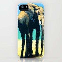 Long Legged Elephant iPhone Case