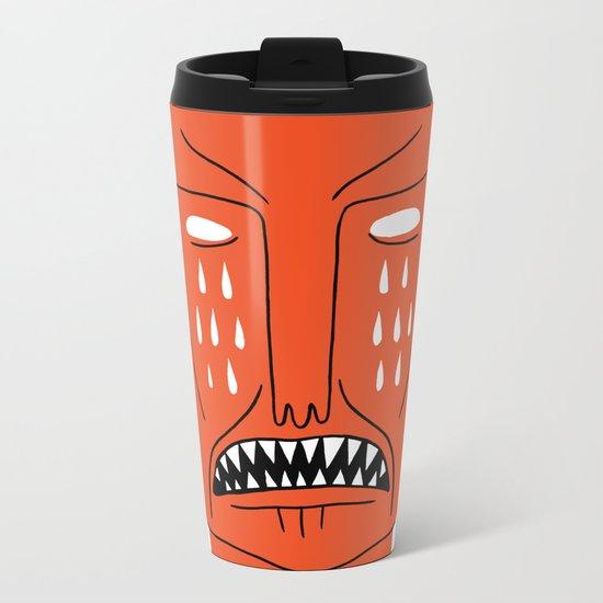 Devil's Head Metal Travel Mug