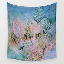 Evening Fog Wall Tapestry