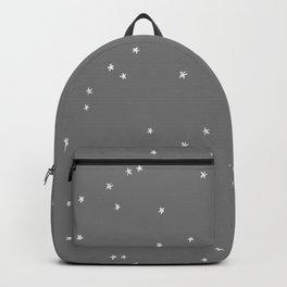 Mystic Stars on Grey Backpack