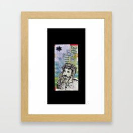 The New Palestinian Shekel Framed Art Print