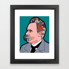 Mix - Nietzsche Framed Art Print