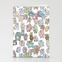 bears Stationery Cards featuring Bears by Hannah Drossman