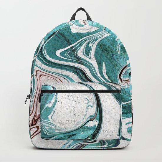 Marble Glitch 3 Backpack