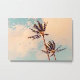 Palms Away - Study 6 Metal Print