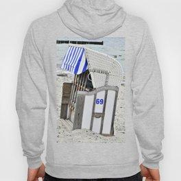 Beachchair No. 69 - Baltic Sea - Warnemuende Hoody