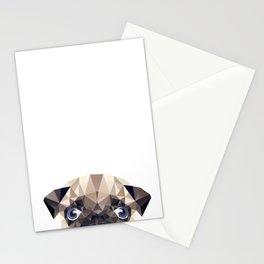 Pug Diamonds Stationery Cards