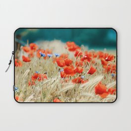 Red Poppies Laptop Sleeve