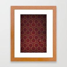the Shining Rug & Room 237 Framed Art Print