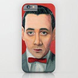 Pee-Wee Herman, A portrait iPhone Case