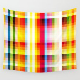 classic multicolored retro pattern Wall Tapestry
