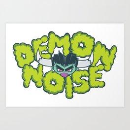 Demon Noise Art Print