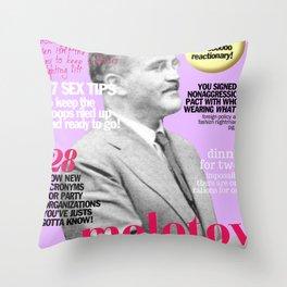 COSMARXPOLITAN, Issue 17 Throw Pillow