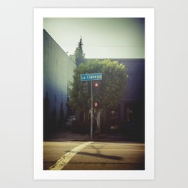 La Cienega Sign [Los Angeles] Art Print
