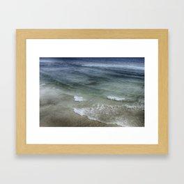 Shimmering Tide Framed Art Print