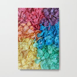 Fruity Pebbles I Metal Print