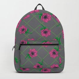Anemone Field Pink Backpack