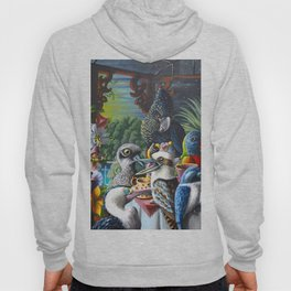 Chit-Chat On The Island Hoody