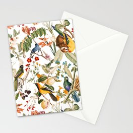 Floral and Birds XXXII Stationery Cards