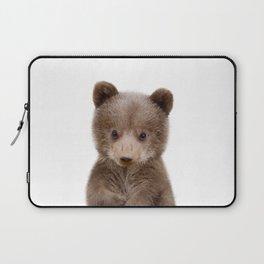 Baby Bear Cub Portrait Laptop Sleeve