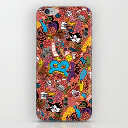 """B"" Pattern iPhone Skin"