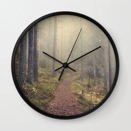 Norwegian Woods Wall Clock