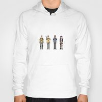 infamous Hoodies featuring 8-bit Infamous by MrHellstorm