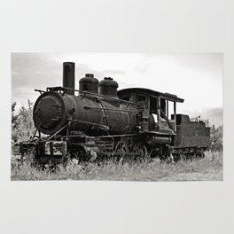 Vintage Steam Engine Rug