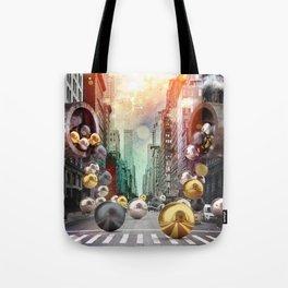 New York City Spill Tote Bag