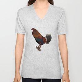 Rooster Unisex V-Neck