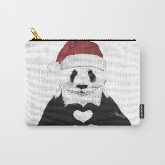 Santa panda Carry-All Pouch