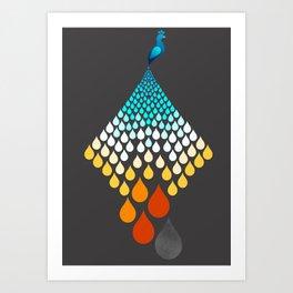 The Firebird Rains Art Print