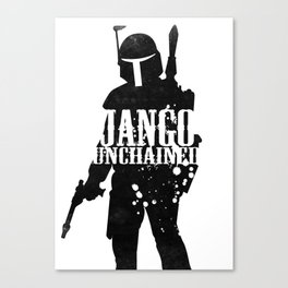 Jango Unchained Canvas Print