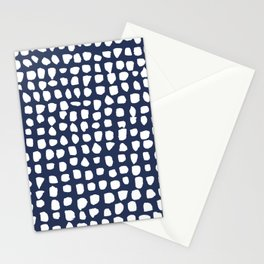 Dots / Navy Stationery Cards