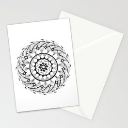 Quill Mandala Stationery Cards