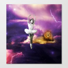 heavenly lion Canvas Print