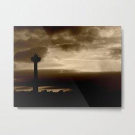 Foggy Skies Metal Print