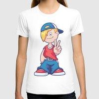 hip hop T-shirts featuring Hip Hop Cartoon Boy by pixaroma