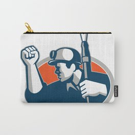 Coal Miner Holding Pen Mascot Carry-All Pouch