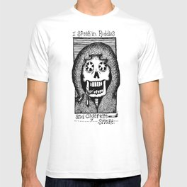 Riddles and Cigarette Smoke. T-shirt