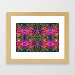 Nausea 1969 V (Ultraviolet) Framed Art Print