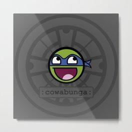 Cowabunga Buddy Squad: Leonardo Metal Print