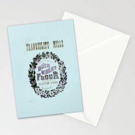 flour power: tranquility mills Stationery Cards